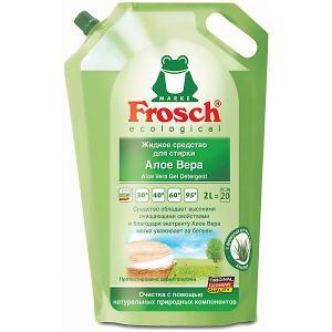 Жидкое средство для стирки  Алоэ Вера, 2 л Frosch