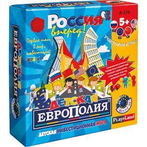 Настольная игра  Детская европолия Play Land