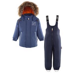 Комплект куртка/полукомбинезон  Mori, цвет: синий Nels