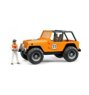 Внедорожник  Jeep Cross Counrty Racer оранжевый Bruder