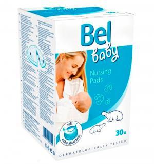 Вкладыши в бюстгальтер одноразовые  Bel Baby Nursing Pads для кормящей мамы, 30 шт Paul Hartmann