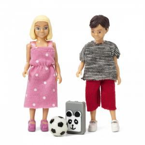 Набор кукол для домика Школьники Lundby