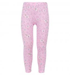 Леггинсы  Алиса, цвет: розовый Free Age