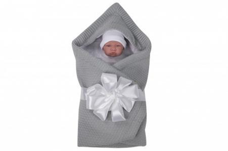 Одеяло-конверт с капюшоном Bliss лентой Forest
