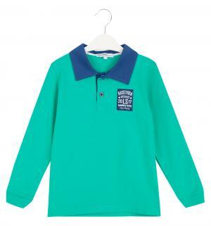 Рубашка-поло , цвет: зеленый/синий Semicvet