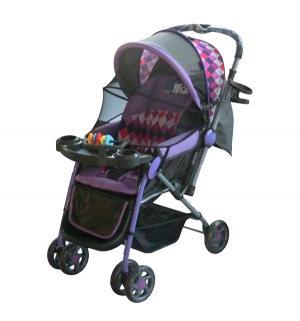 Прогулочная коляска  LK- 216, цвет: фиолетовый Little King