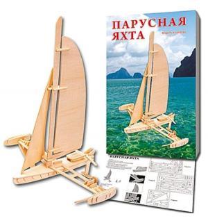 Сборная деревянная модель  Парусная яхта Рыжий кот