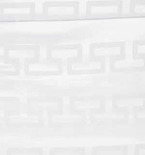 Комплект постельного белья  Евро/нав. 70х70 Линия любви, цвет: серый Василиса