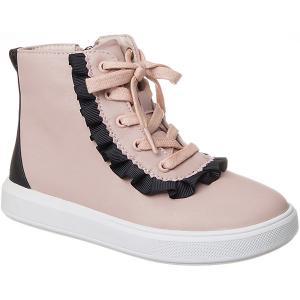 Ботинки  для девочки Vitacci. Цвет: розовый