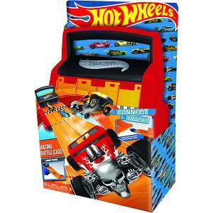 Портативный кейс-автотрек 2 в 1 Hot Wheels, красный WHEELS. Цвет: красный