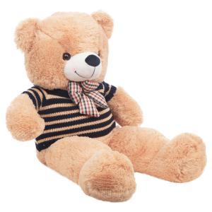 Мягкая игрушка  Медведь в свитере с бантом 100 см цвет: бежевый Игруша