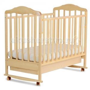Детская кроватка  Березка 12111 качалка с ящиком СКВ Компани