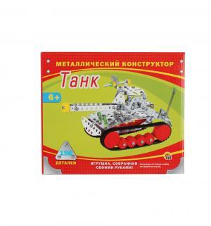 Конструктор  Танк (198 дет.) Рыжий кот