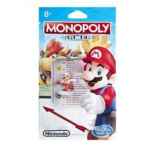 Настольная игра  Монополия Геймер. Дополнительные герои Марио с огненным шаром Monopoly