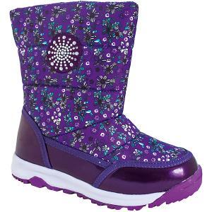 Дутики BiKi. Цвет: фиолетовый