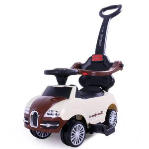 Каталка-машина  Roc 102, цвет: бежевый/коричневый Tommy