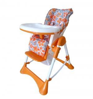Стульчик для кормления  Fancy, цвет: оранжевый BabyHit