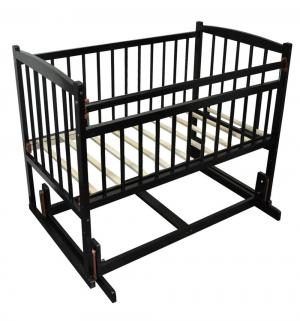 Кровать  Беби-4, цвет: венге Массив