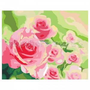 Роспись холста по номерам Розы в саду Креатто