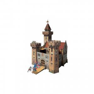 Сборная модель Рыцарский замок Умная Бумага