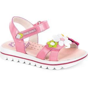 Босоножки  для девочки Pablosky. Цвет: розовый