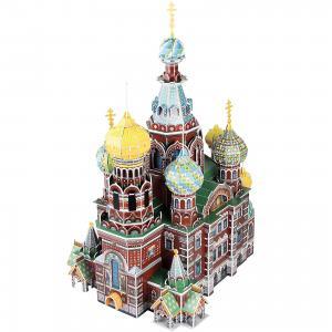 Пазл 3D Собор Воскресения Христова (Россия), 233 детали, CubicFun