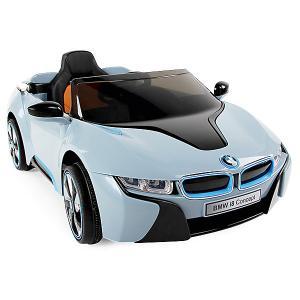 Электромобиль  р/у BMW i8, 127х76х52 см Zilmer. Цвет: синий/белый