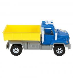 Машинка  Камакс самосвал с бочками синяя кабина Орион