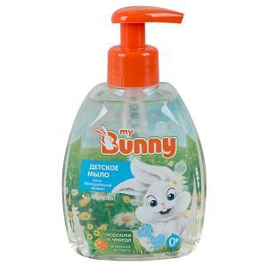 Мыло для тела  с антибактериальным эффектом морошкой чередой и д-пантенолом, 300 мл My Bunny
