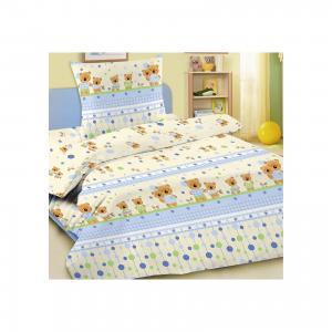 Детское постельное белье 3 предмета , простыня на резинке, BGR-15 Letto