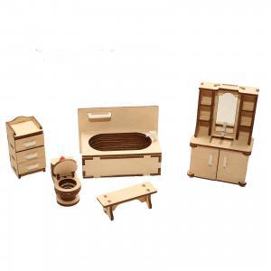 Деревянный набор мебели ХэппиДом Ванная Happykon