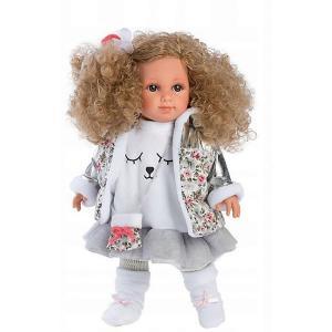 Кукла  Елена, 35 см Llorens. Цвет: серый/белый