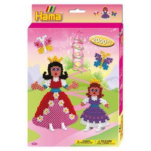 Термомозаика  Perlen Принцессы + 1 основа, 2000 бусин Hama