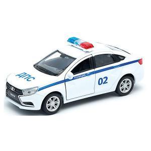 Машинка  Lada Vesta Полиция ДПС, 1:34-39 Welly
