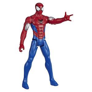 Игровая фигурка Marvel Spider-Man Titan Hero Series Вооружение. Человек-паук, 30 см Hasbro. Цвет: разноцветный