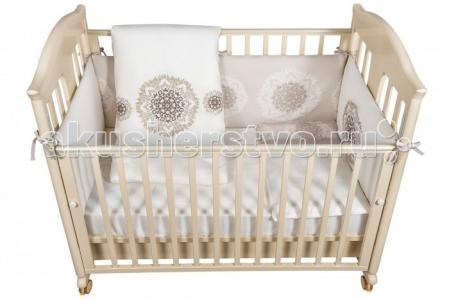 Комплект в кроватку  Royal (6 предметов) Bebe Luvicci
