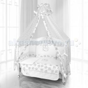Комплект в кроватку  Unico Orso Mamma 125х65 (6 предметов) Beatrice Bambini