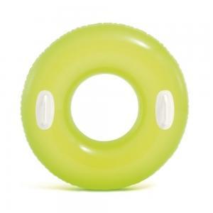 Надувной круг  Яркое настроение блестящий, с ручками, 76 см Intex