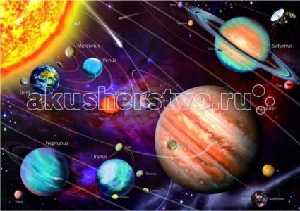 Пазл Солнечная система с неоновым свечением 1000 элементов Educa