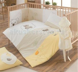 Комплект в кроватку  Little Bear (6 предметов) Kidboo