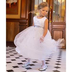 Нарядное платье  Dart Unona. Цвет: серебряный
