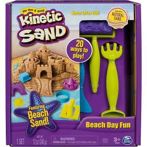 Игровой набор Kinetic Sand Кинетический песок: веселая пляжная игра