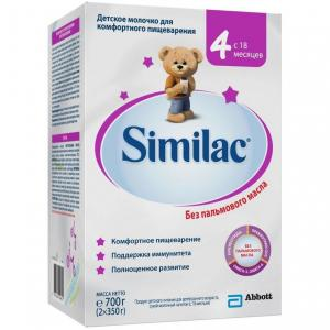 Молочко детское  4 с 18 месяцев, 700 г Similac