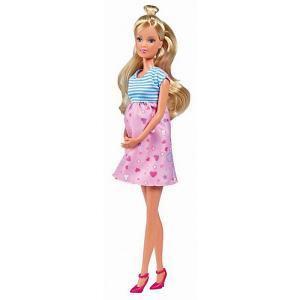 Кукла  Steffi Love Штеффи в ожидании малыша, 29 см Simba. Цвет: розовый