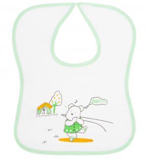 Нагрудник , цвет: зеленый Бусинка