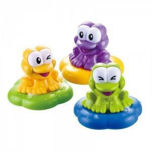 Игровой набор для купания Веселые лягушки B kids