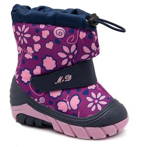 Сноубутсы М+Д. Цвет: фиолетовый