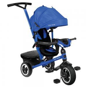 Трехколесный велосипед  Rider 360° 10x8 AIR Car, цвет: синий Moby Kids
