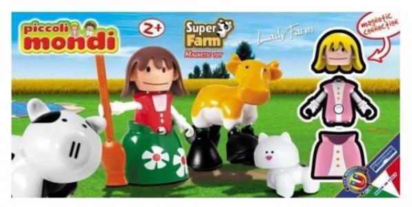 Конструктор  Piccoli Mondi Super Farm Lady Plastwood