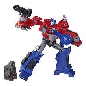 Трансформеры Transformers Кибервселенная Делюкс Оптимус Прайм, 12 см Hasbro. Цвет: разноцветный
